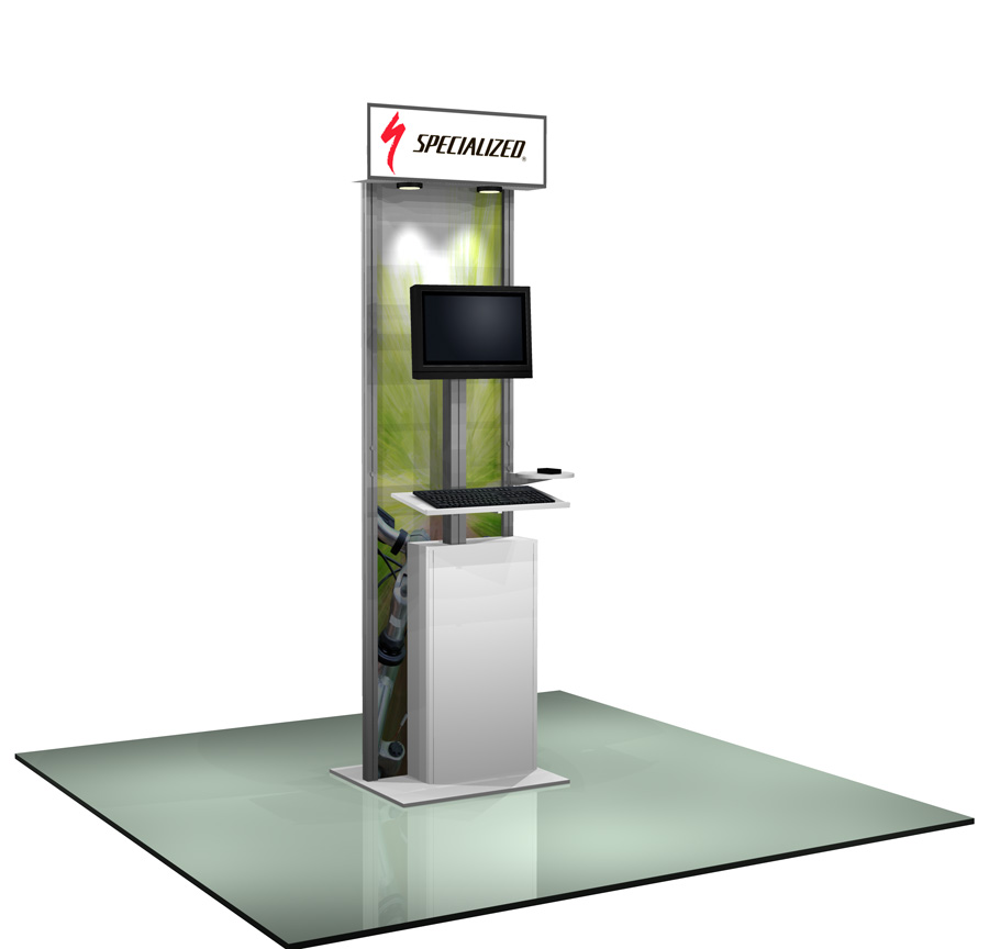 Modular Monitor Stand, Trade Show Displays