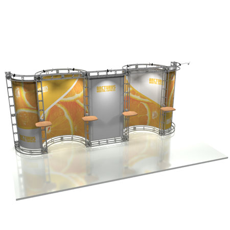 Arcturas Truss System Display, Trade Show Display Systems