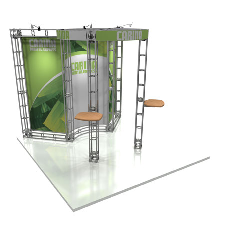 Carina Truss System Display, Trade Show Display Systems