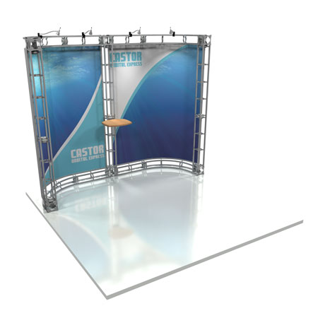 Castor Truss System Display, Trade Show Display Systems
