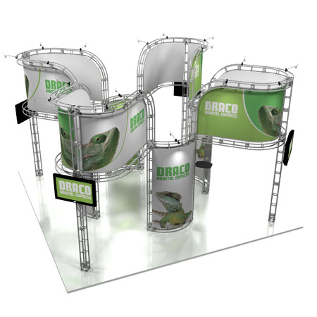 Draco Truss System Display, Trade Show Display Systems