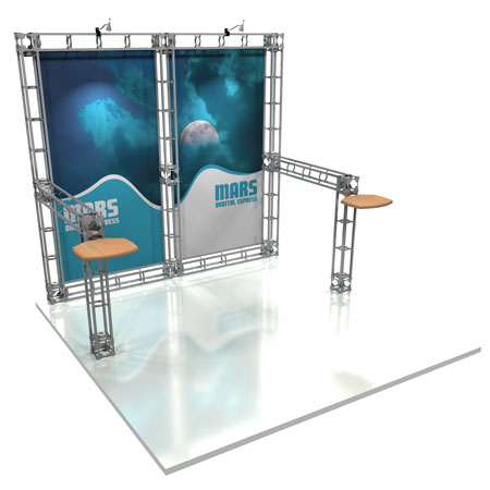 Mars Truss System Display, Trade Show Display Systems