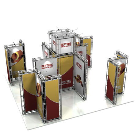 Neptune Truss System Display, Trade Show Display Systems