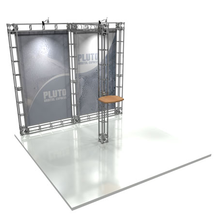 Pluto Truss System Display, Trade Show Display Systems