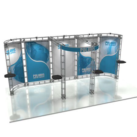 Polaris Truss System Display, Trade Show Display Systems