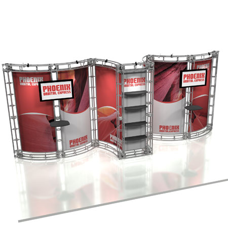 Phoenix Truss System Display, Trade Show Display Systems