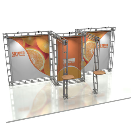 Saturn Truss System Display, Trade Show Display Systems