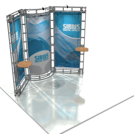 Sirius Truss System Display, Trade Show Display Systems