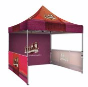 Ez-Up Style Tent- Premium , Custom Event Tents, Trade Show Displays