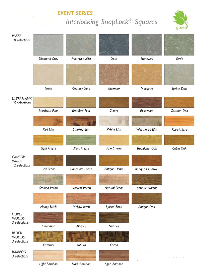 Centiva on Snaplock Portable Trade Show Flooring:  14 Styles and 90 Colors Page 3
