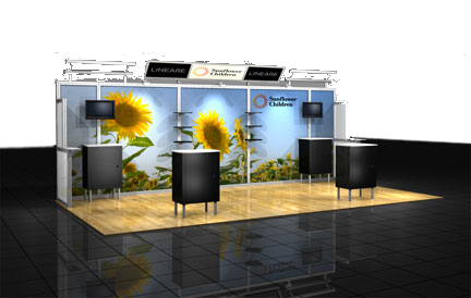 Truss System Displays, booths and exhibits