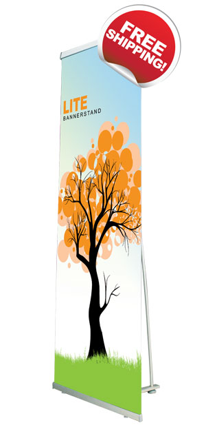 Banner Stands, Non-retractable