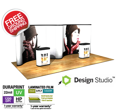 PL9-G11 Pop Up Trade Show Display